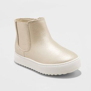 Cat & Jack Little Girl Fashion Ankle Sneaker Boots